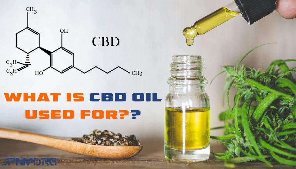 CBD oil used